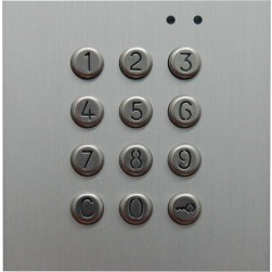 Alpha NX3301 NEXA Panel Access Keypad-Stainless Steel