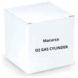 Macurco O2 Gas Cylinder Oxygen O2 Test Gas Canister