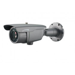Speco O3FB56M 3 Megapixel Outdoor Network Intensifier IP H.265 Bullet Camera, 5-60mm Lens