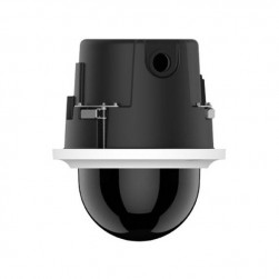 Pelco P1220-FWH0 2 Megapixel Network In-ceiling Indoor Dome Camera, 20X Lens, Smoked