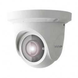 InVid PAR-P5TXIRA3312 5 Megapixel Network IR Outdoor Dome Camera, 3.3-12mm Lens