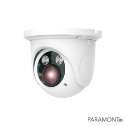 InVid PAR-VARITURRETA 1080p TVI / AHD / CVI / Analog Outdoor IR Turret Camera, 2.8-12mm Lens