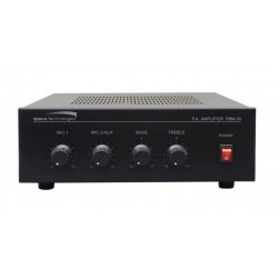 Speco PBM30 30 Watt RMS Public Address Amplifier
