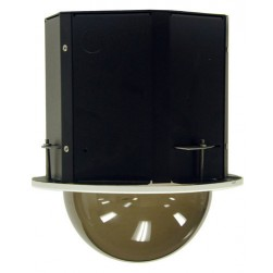 Panasonic PID5SN Indoor Recessed Ceiling Housing for WV-NS202, NF284, CW484S Cameras (Smoked Dome)
