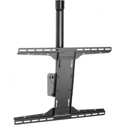 """Peerless-AV PLCK-UNL Ceiling Mount with 1.5"""" NPS Coupler and Universal I-Shaped Adaptor for 32"""" to 90"""" Displays"""
