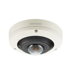 Samsung PNF-9010R 4K Network Fisheye IR Dome Camera, 2.1 mm Lens