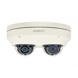 Samsung PNM-7000VD 2MPX2 Sensors Network Outdoor Multi-Directional Dome Camera