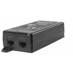 Pelco POE21U1AF-EUK High Power Single Port PoE Injector with EU and UK Power Cord