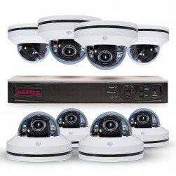 Cantek PT8MPTZ2TB Powerful 8 Channel Pan/Tilt/Zoom 1080P HD Security System