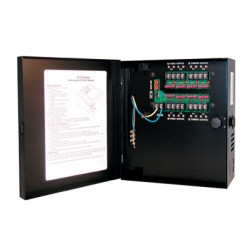 Samsung Security PWR-24AC-8-7 Small Enclosed 8-Output, 7.25 Amp 24VAC Power Supply