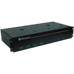 "Altronix R2416600UL 16 Output Rack Mount Power Supply, 24/28 VAC @ 25/20 Amp, Fuse Protected, 2U EIA 19"" Rack Mount Chassis, UL Listed"