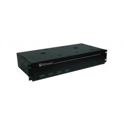 "Altronix R2416ULCBI 16 Output Isolated Rack Mount Power Supply, 24 VAC @ 25 Amp, Isolated PTC Protected, 2U EIA 19"" Rack Mount Chassis, UL Listed"