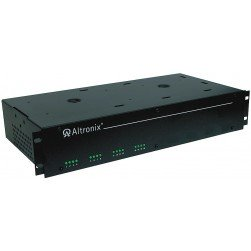 Altronix R2416300UL 16 Output Rack Mount Power Supply, 24/28 VAC, Fuse