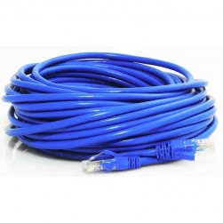 ATV R300CAT6 300' Cat6 Pure Copper 550MHz with Connectors, Blue