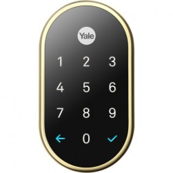 Yale RB-YRD540-WV-605 Nest x Yale Lock with Nest Connect, Polished Brass
