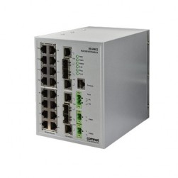 Comnet RLGE20FX4TX16MS/HV Dual Redundant 20-Port Managed Switch