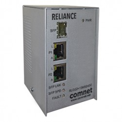 Comnet RLGE2+1SMSPOEHO Electrical Substation-Rated