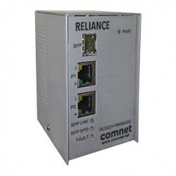 Comnet RLGE2+1SMS48DC Electrical Substation-Rated three-port