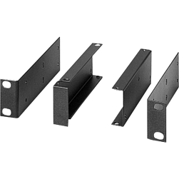 "Bosch RMK-D BLACK Dual Rack Mount Kit Mounts 1/2 Rack Components in Center of 19"" Rack, Black"