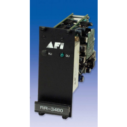 AFI RT-1485-4E Video 2 Way RS485 4 Wire Rack Card Transmitter