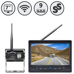 """RVS Systems RVS-355W Simple Sight Wireless Backup Camera System With 7"""" Single Screen Monitor"""