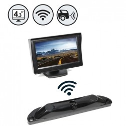 RVS Systems RVS-5350-W Wireless Backup Camera System with Built-In Sensors