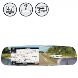 RVS Systems RVS-718-FLML G-Series Rear View Frameless Mirror Monitor