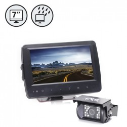 RVS RVS-7709900 620 TVL Backup Camera System with Waterproof Monitor, 2.5mm Lens