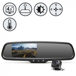 RVS System RVS-776718-DCT G-Series Backup Camera With Auto Dimming