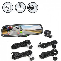 RVS System RVS-776718-PS Backup Camera With Backup Sensors
