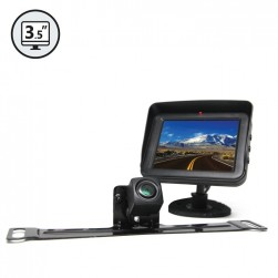 RVS System RVS-778607 Backup Camera with License Plate