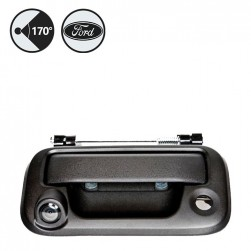 RVS Systems RVS-F250-02 170° Ford F250 Tailgate Handle Backup Camera, RCA Adapter