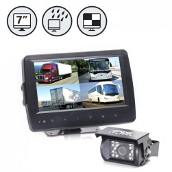 RVS System RVS-7709900Q Backup Camera - Waterproof Quad View Monitor