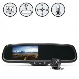 RVS System RVS-776718-CT G-Series Backup Camera With Compass