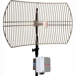 VideoComm RXO-5808Q9 5.8GHz All Weather 8CH Ext. 29dB Parabolic