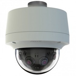 Pelco S-IMM12027-1EPP 12 Megapixel 270° Pendant Environmental Vandal Network Camera, Gray