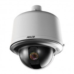 Pelco S5220-EG0 Spectra HD IP High Speed Dome Camera System, 20x Optical Zoom, Gray
