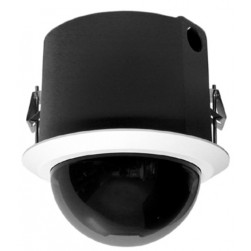 Pelco S6230-FWL1 2 Megapixel Spectra Enhanced Low Light HD Indoor In-Ceiling Network PTZ Dome Camera, 30X, Clear, White