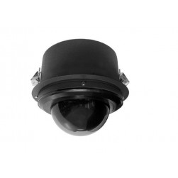 Pelco S6230-YBL1 2 Megapixel Spectra Enhanced Low Light HD In-ceiling Environmental Network PTZ Dome Camera, 30X, Clear, Black