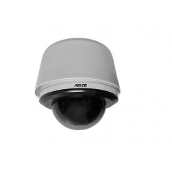 Pelco S6230-EGL0US 2 Megapixel Spectra Enhanced Low Light HD Pendant Environmental Network PTZ Dome Camera, 30X, Smoked, Gray, US