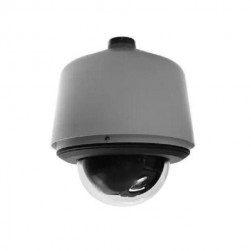 Pelco S6230-ESG1 2 Megapixel Spectra Enhanced HD Environmental Stainless Steel Pendant IP PTZ Dome Camera, Clear, 30X Lens, Gray