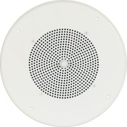 Bogen S86T725PG8UVR Ceiling Speaker w/Volume Control Bright White