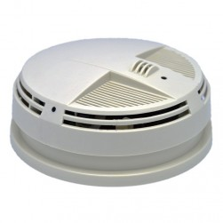 KJB SC72004K Xtreme Life 4K Night Vision Smoke Detector Bottom View IR Camera