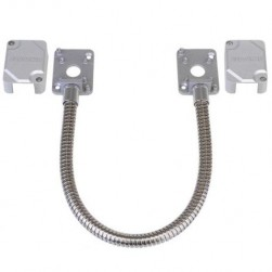 Seco-Larm SD-969-M15Q/S SD-969 Series Armored Door Cords - Silver