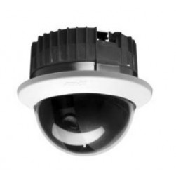 Pelco SD4-B0-X 460 TVL Analog Surface Indoor Dome Camera, Smoked, Black, 10X Lens, PAL