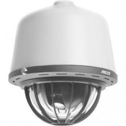 Pelco SD429-HCP0 Spectra Heavy Duty Flush Smoked PTZ Dome Camera, 29x