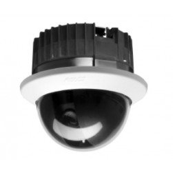 Pelco SD5-W1-X 700 TVL Analog Indoor Clear Dome Camera, 5.1-51mm Lens, White, PAL