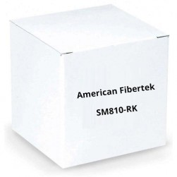 American Fibertek SM810-RK Rack Mount Kit for SM8p-SFP and SM10p