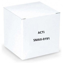 ACTi SMAX-0191 Junction Box with Gooseneck and PTZ Mount Kit for I92