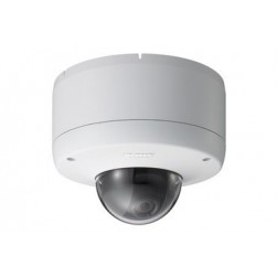 Sony SNC-DF80N Network Vandal Resistant Minidome Camera with Dual Stream JPEG/MPEG-4, H.264, Day/Night and PoE